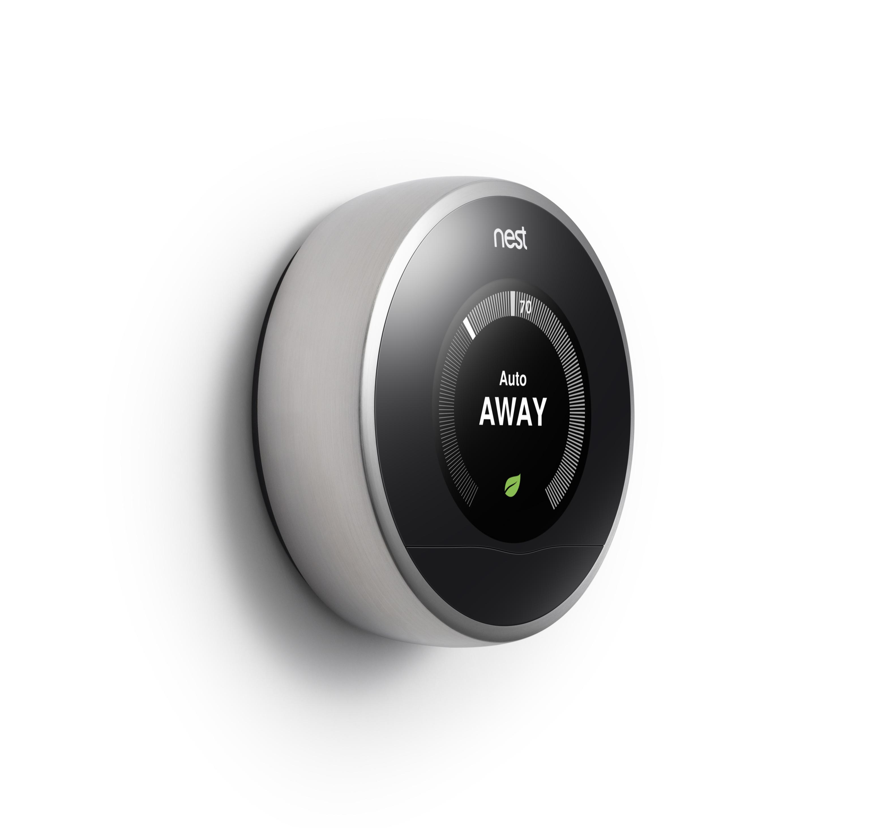 Nest's thermostat. Image courtesy of Nest.