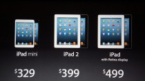 Apple iPad lineup October 2012 iPad Mini event