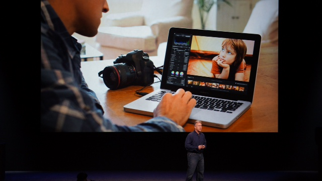 MacBook Pro 13-inch Retina display announcement