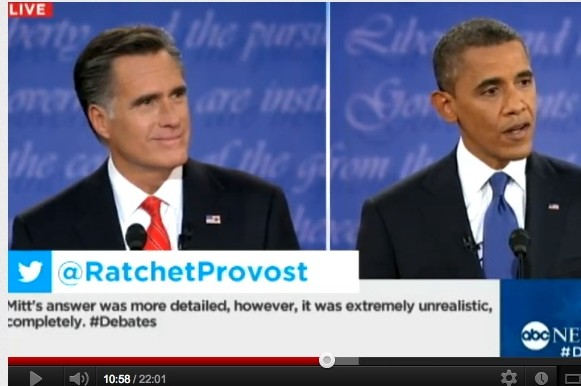 presidential debate romney obama feature
