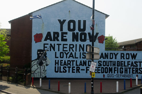 Belfast mural used under Creative Commons license courtesy of Infomatique