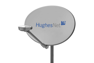 HughesNet Gen4 satellite broadband dish