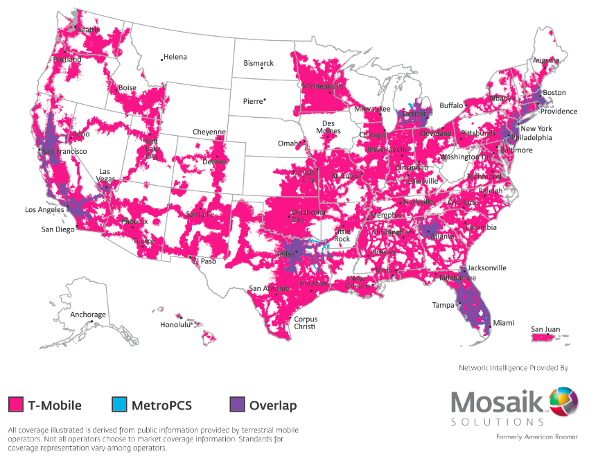 A bird\'s eye view of a combined T-Mobile-MetroPCS – Gigaom