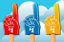 Number 1 foam hands rankings