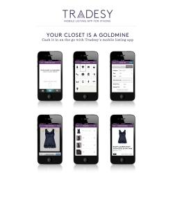 Tradesy mobile app