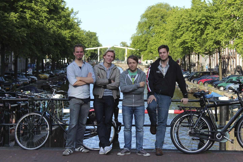 Werker team (from left) Jacco Flenter, Wouter Mooij, Micha Hernandez van Leuffen, Benno van den Berg. (Lindsey Batema not pictured.)