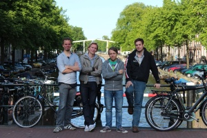 Werker team (from left) Jacco Flenter, Wouter Mooij, Micha Hernandez van Leuffen, Benno van den Berg. (Lindsey Batema not pictured.)