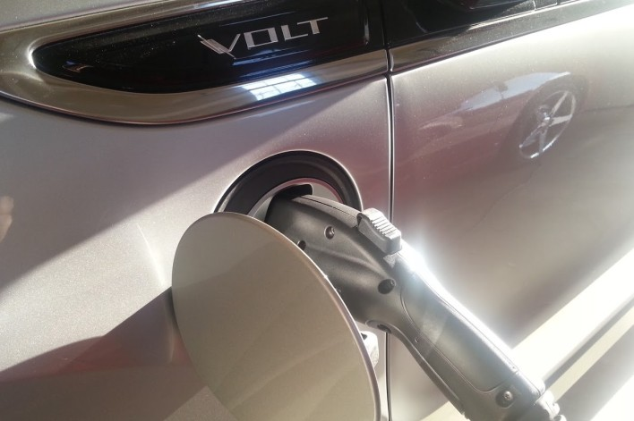 Charging a Chevy Volt