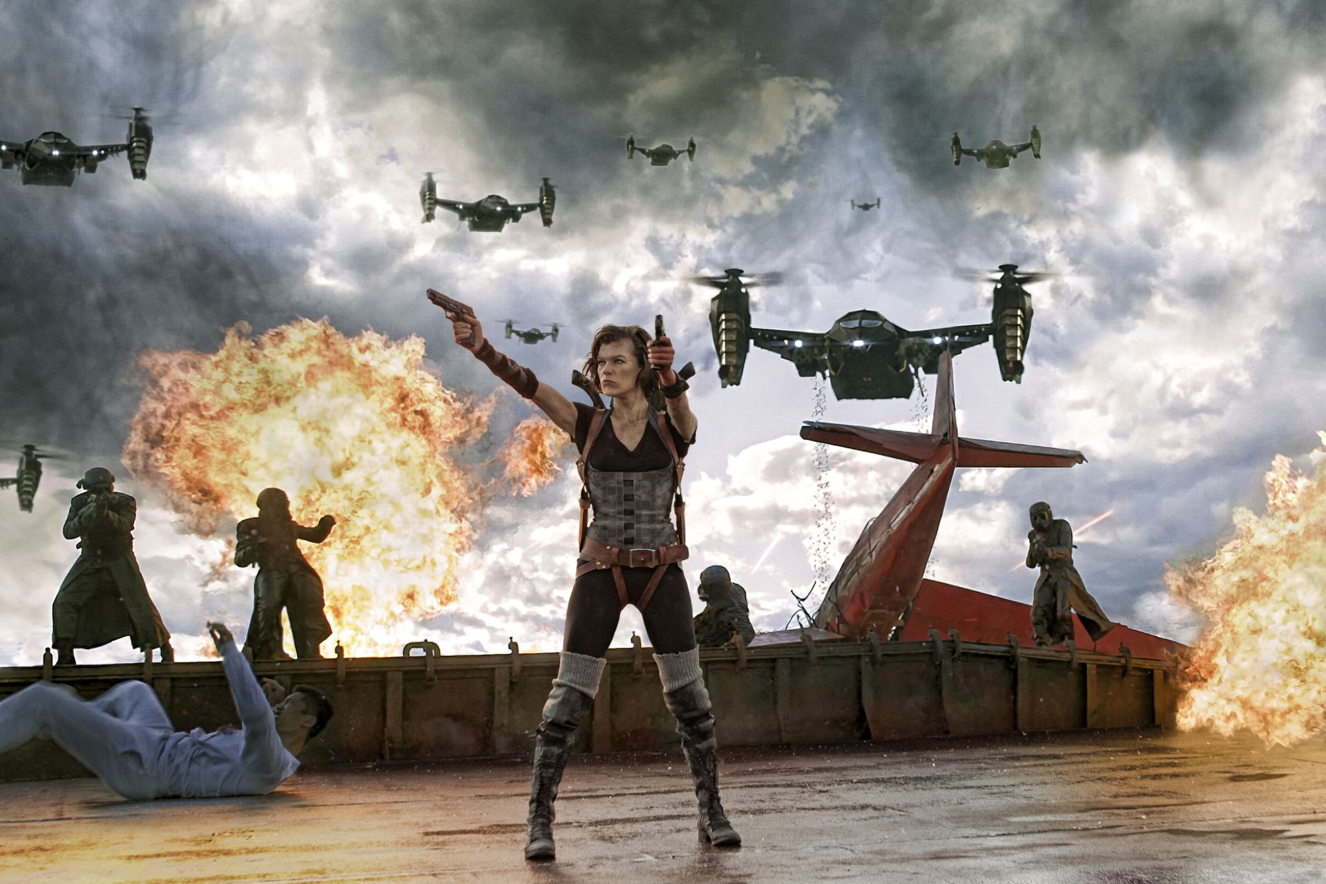 Resident Evil action movie still