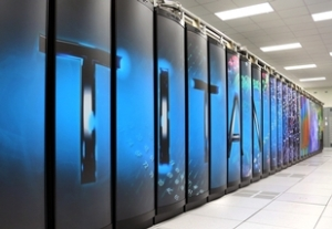 Titan, the world's fastest supercomputer in Nov. 2012.