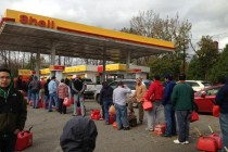 New Jersey gas lines, Hurricane Sandy