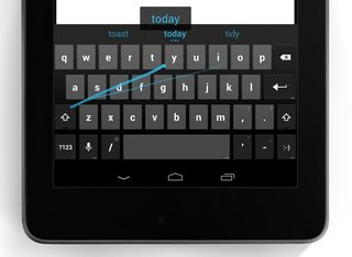 Android 4 dot 2 swyping keyboard