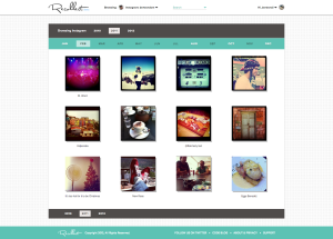 Recollect search and browse Instagram