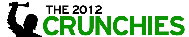 The 2012 Crunchies logo