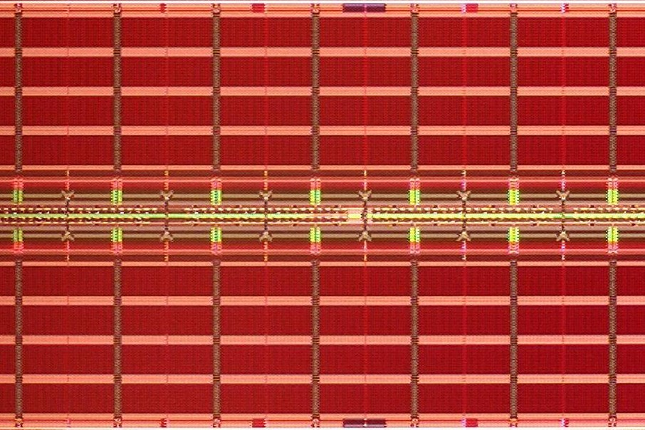 This is what MRAM looks like.