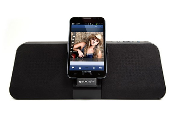 Grace Digital gdock for Samsung Galaxy devices