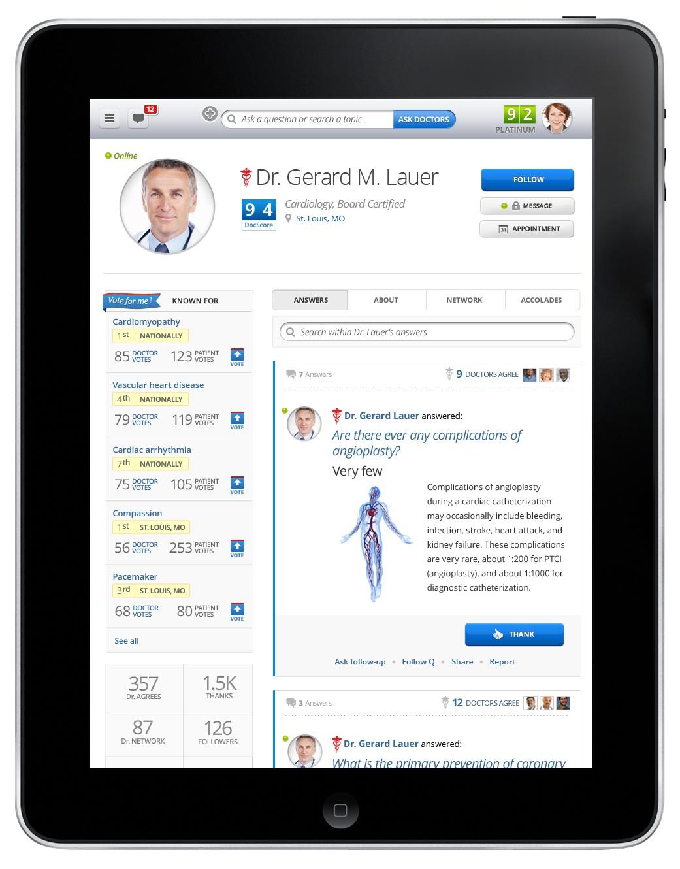 HealthTap - Top Docs Competition