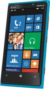 AT&T Lumia 920 in Cyan
