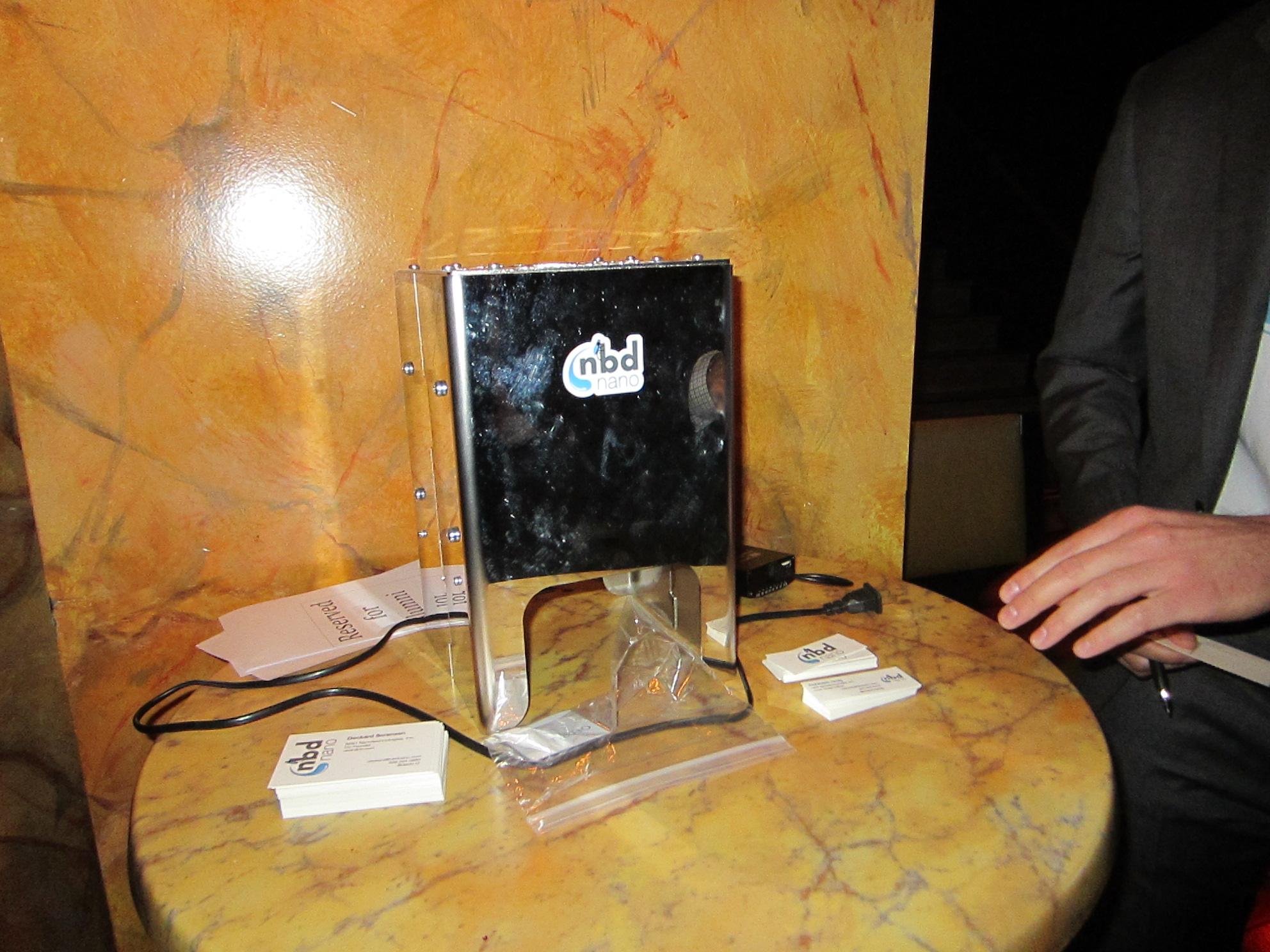 NBD Nano's countertop air-to-water converter.