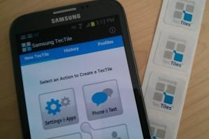 Samsung NFC tags