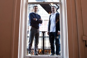 Percolate, co-founders James Gross and Noah Brier