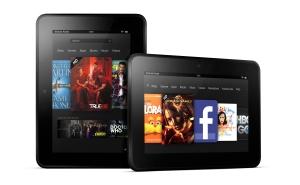 Amazon Kindle Fire HD tablets