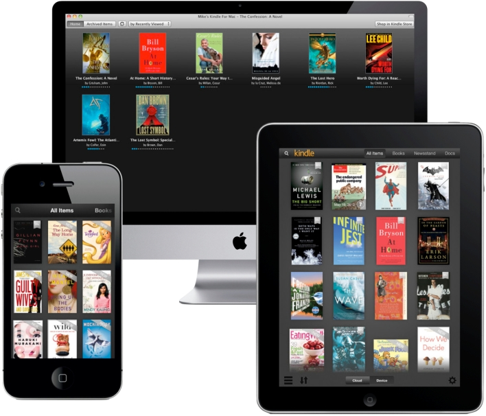 Kindle on iOS and OS X