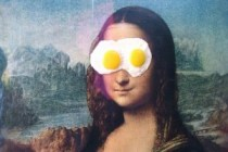 monalisa egg on face