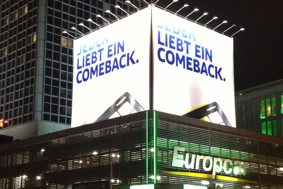 Nokia billboard in Berlin