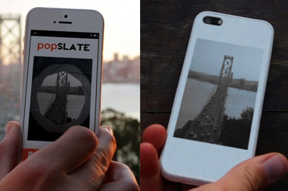 popSLATE e-ink case for iPhone 5
