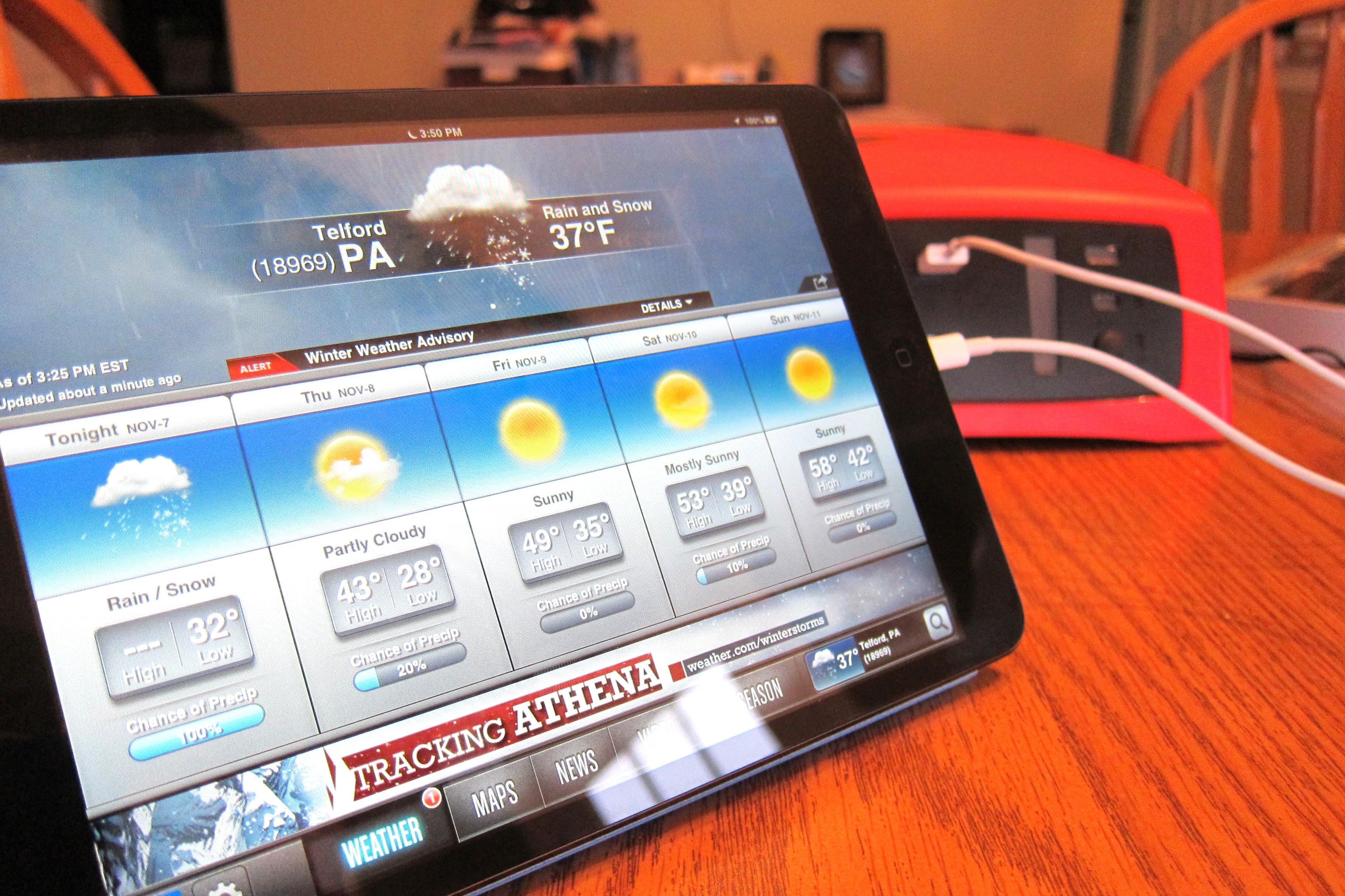 ReadySet charging iPad mini
