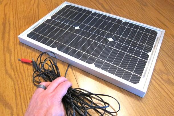 ReadySet solar panel