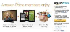 Amazon Prime $7.99/month
