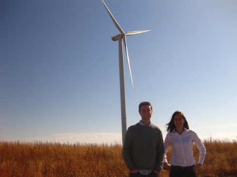 A Google-backed wind farm in Iowa