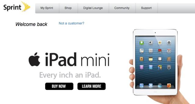 Sprint iPad mini
