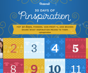 30 days of pinterest holiday celebration