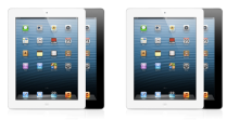iPad 2 and ipad with retina display