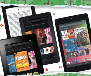 black friday e-readers tablets