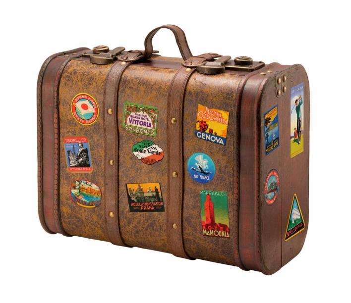 suitcase, travel, luggage