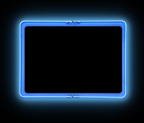 glowing frame