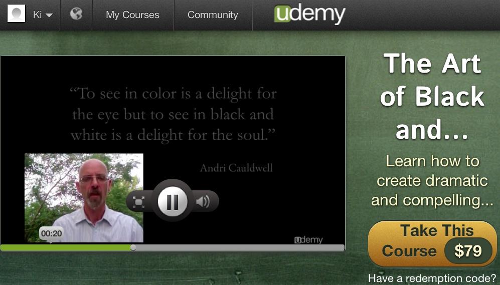 udemy instructor