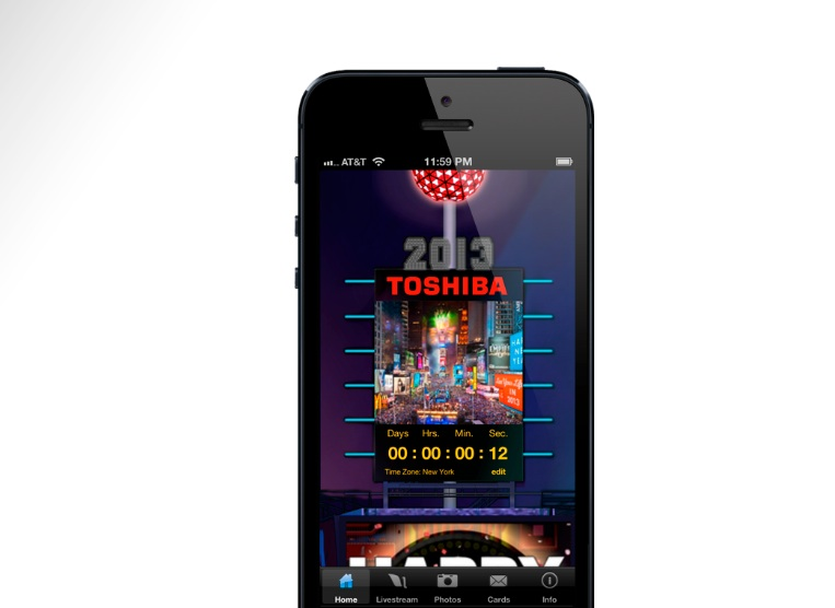 2013 times square app