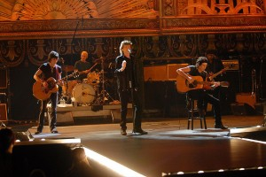 Mick Jagger and Rolling Stones on stage