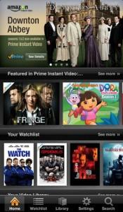 Amazon Instant Video on iOS