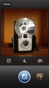 Instagram photo screenshot camera update