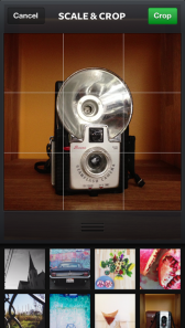 Instagram 3.2 camera redesign screenshot