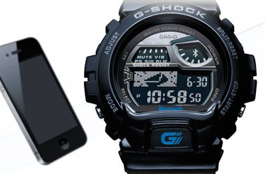Casio smart watch and iPhone