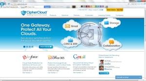 CipherCloud Homepage