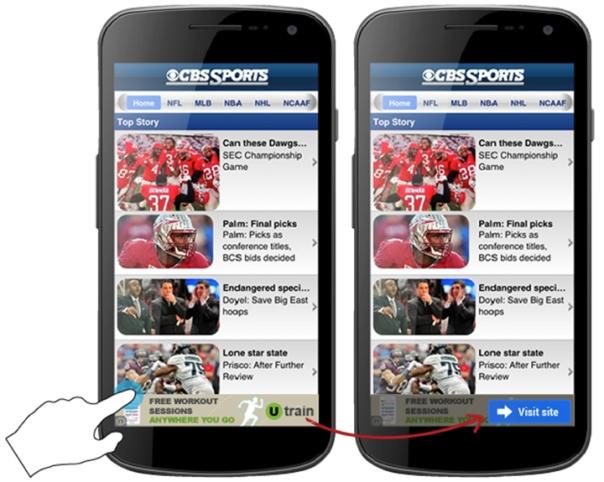 Google, mobile ads, accidental clicks