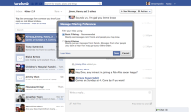 facebook messages preview